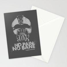 No Pain, No Bane Stationery Cards