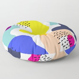 Fluorescent Adolescent Floor Pillow