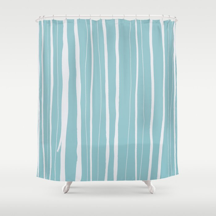Vertical Living Salt Water Shower Curtain by projectm   Society6