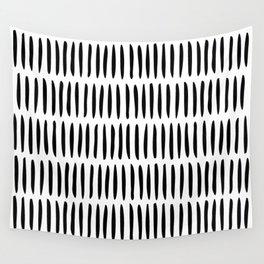 Classy Handpainted Stripes Pattern, Scandinavian Design Wall Tapestry