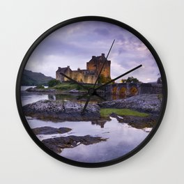 The Guardian of the Lake Wall Clock