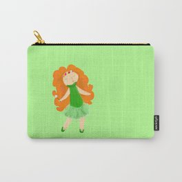 Red haired Ballerina Carry-All Pouch