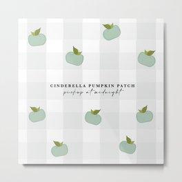 Cinderella's Pumpkins Metal Print