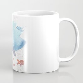 Cloud fish the Boogie Man - Fantasy Worlds - Watercolor Coffee Mug