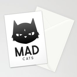 Mad Cats Stationery Cards