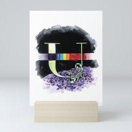 U is for Ultraviolet Mini Art Print