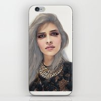 xoxo iPhone & iPod Skins featuring XOXO by Sara Eshak