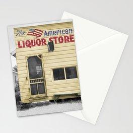 Vintage Liquor Store Stationery Cards