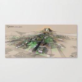 Medora Landscape Canvas Print