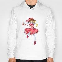 sakura Hoodies featuring Sakura by clayscence