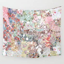 Orlando map landscape Wall Tapestry