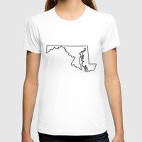 maryland T-shirts featuring Maryland by mrTidwell
