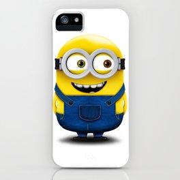 Minion BOB (Happy) iPhone Case