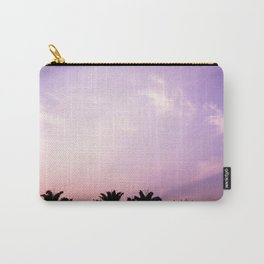 Blush pink purple sky Carry-All Pouch
