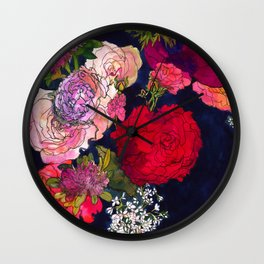 You Promised Me Roses Wall Clock