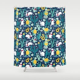 The tortoise and the hare Shower Curtain
