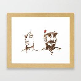 Revolutionaries Framed Art Print