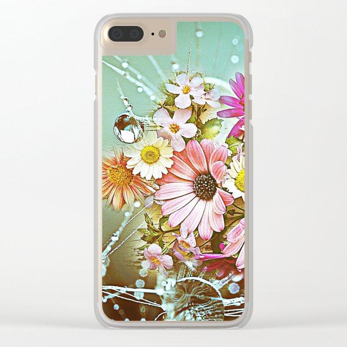 Little Wonders Clear iPhone Case