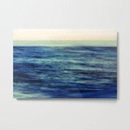 the sea, the sky Metal Print