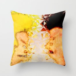 Bevis and Butthead Throw Pillow