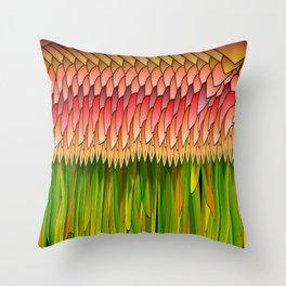Floraison, 2470r Throw Pillow