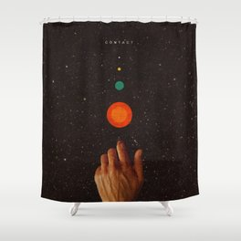 Contact Shower Curtain