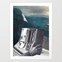 radio Art Prints featuring radio by Hugo Barros