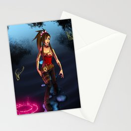 .:Through the Mist:. Stationery Cards