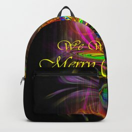 We wish you a Merry Christmas Backpack