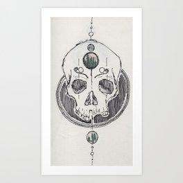 V.II.XIV Man Art Print
