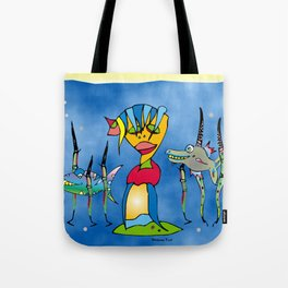 Stay Upbeat Tote Bag