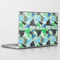 nouveau Laptop & iPad Skins featuring Nouveau Nouveau by Jacqueline Maldonado