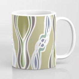 Neutral Strand Twist Blue Green Coffee Mug
