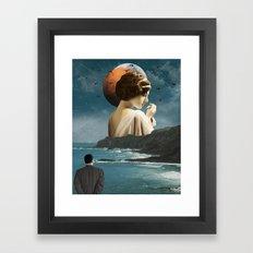 My Guiding Light Framed Art Print
