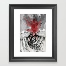 Valley of Death Framed Art Print