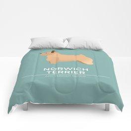 Norwich Terrier Comforters