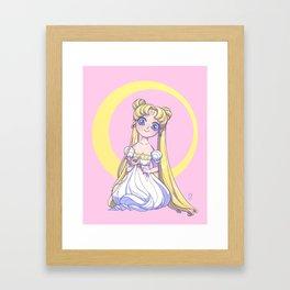 Sailor Moon Princess Framed Art Print