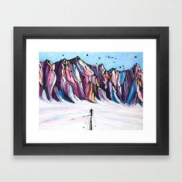 Solo Stoke Framed Art Print