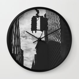 City Streets Wall Clock