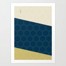 Geo Block No. 4 Art Print