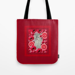 Corazon 2 by Beth Vallory and Julia Woodman Tote Bag