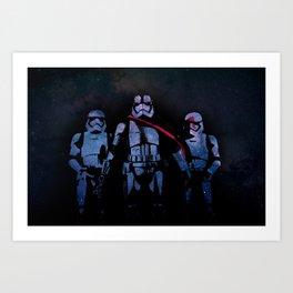 Captain Phasma - Space Art Print
