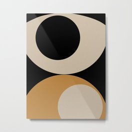 Aimlessly in Circles - Tear Metal Print