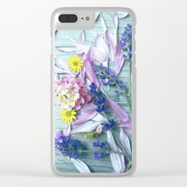 Fresh from the meadow Clear iPhone Case