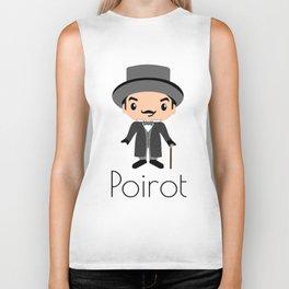 Hercule Poirot | Agatha Christie Biker Tank