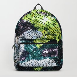 Glam Sequined Camo Backpack