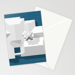 Roofscape #7 Stationery Cards