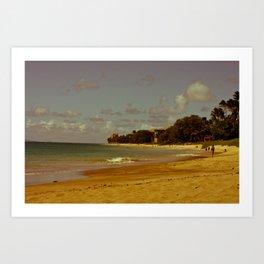 Vintage Maui 3 Art Print