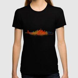 San Francisco City Skyline Hq v2 T-shirt