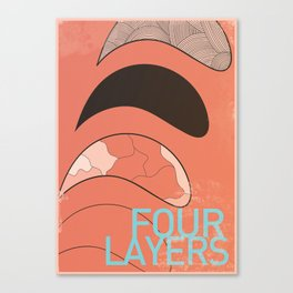 Four Layers Canvas Print